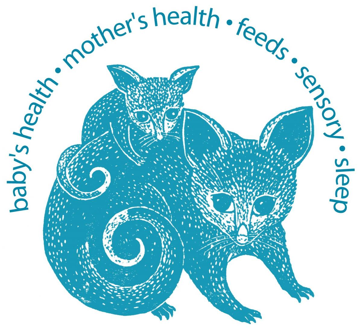 Possums - baby's health, mother's health, feeds, sensory, sleep