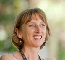 Possums for Parents with Babies - NDC, Dr Pam Douglas in bead necklace, breastfeeding, baby sleep and crying problems